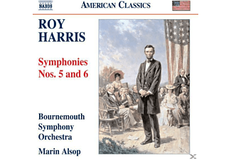 Marin Bournemouth Symphony Orchestra & Alsop - Sinfonien 5+6 - (CD)