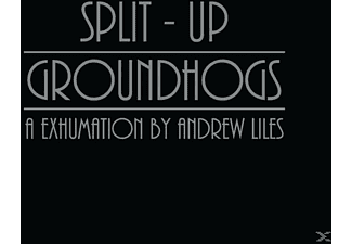 Andrew Liles - Split - Up Groundhogs: A Exhumination By Nadrew Liles - (CD)
