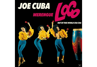 Joe Cuba - Merengue Loco Out Of This World Cha Cha - (CD)