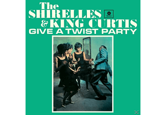 Shirelles, The & Curtis, King - Give A Twist Party+2 Bonus Tracks (Ltd.180g Vin - (Vinyl)
