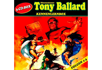 Tony Ballard - Kennenlernbox (3 CDs) - Saturn Exklusiv - 3 CD - Science Fiction/Fantasy