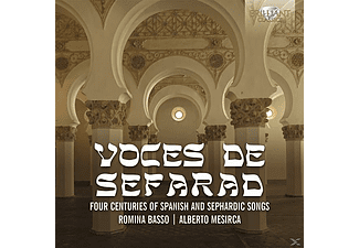 Romina Basso, Alberto Mesirca, Turkish Ensemble - Voces De Sefarad - (CD)