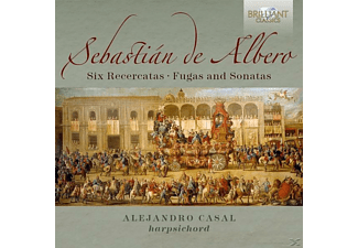 Alejandro Casal - Six Recercatas, Fugas And Sonatas - (CD)