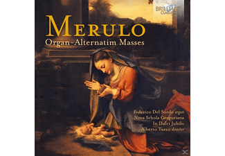 Federico Del Sordo, In Dulci Jubilo, Nova Schola Gregoriana - Organ-Alternatim Masses - (CD)