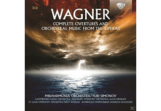 VARIOUS - Complete Overtures And Orchestral Music From - (CD)