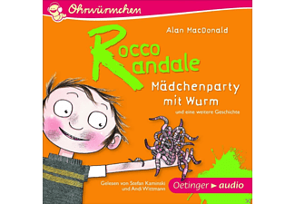 Rocco Randale – Mädchenparty mit Wurm - 1 CD - Kinder/Jugend