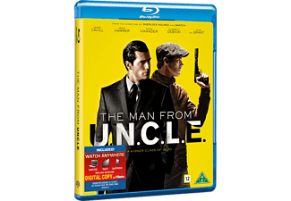 The Man From U.N.C.L.E Action Blu-ray