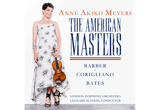 Anne Akiko Meyers, Lso, Leonard Slatkin - The American Masters - (CD)