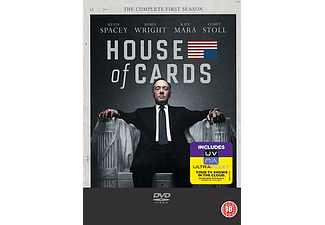 House of cards Season 1 DVD