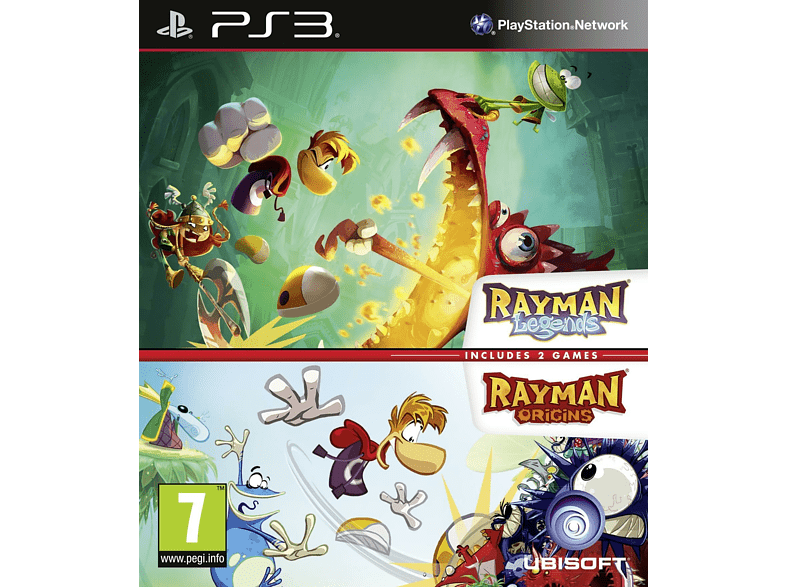 Compilation: Rayman Legends & Rayman Origins gaming   offline sony ps3 παιχνίδια ps3 gaming games ps3 games