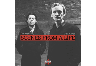 King,George & Raven,Carl - Scenes From A Life - (CD)