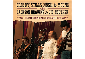 Crosby,Miles Stills,Nash & Young - The California Hungerton Benefit 1988 - (CD)
