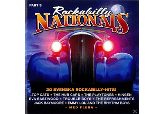 Various - Rockabilly Nationals-Part 3 - (CD)