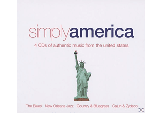 VARIOUS - Simply America - (CD)