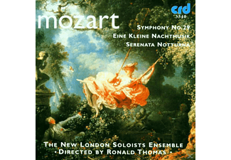 Tom T. Hall, New London Soloists Ensemble, Thomas/New London Soloists Ensemble - Mozart:Eine Kleine Nachtmusik/Sinfonie 29 - (CD)