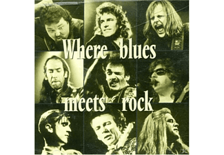 VARIOUS - Where Blues Meets Rock - (CD)