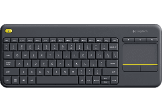 LOGITECH K400 Plus Touch Dark TR Klavye