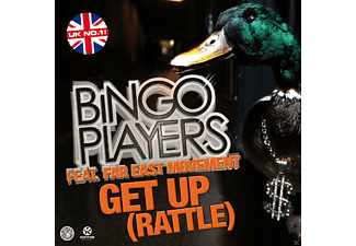 Bingo Players feat. Far East Movement - Get Up (Rattle) - (5 Zoll Single CD (2-Track))