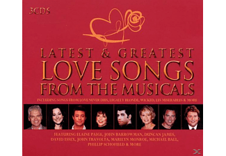 VARIOUS - Latest & Greatest Musical Love Songs - (CD)