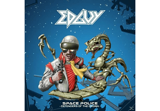 Edguy - Space Police-Defenders...(Black) - (Vinyl)