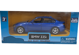 DIE CAST KZL TOP304 BMW 3.356 Metal Çek Bırak Araba Mavi