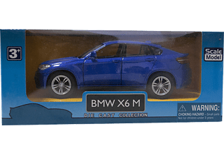 DIE CAST KZL TOP303 BMW X6 Metal Çek Bırak Araba Mavi