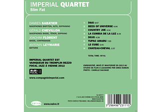 Imperial Quartet - Slim Fat - (CD)
