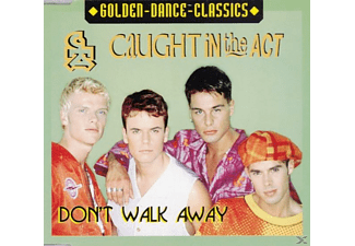 Caught In The Act - Don't Walk Away - (Maxi Single CD)