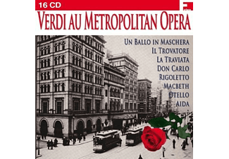 VARIOUS - Verdi Au Metropolitan Opera [Import, Box-Set] - (CD)