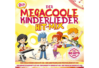 Various - Der Megacoole Kinderlieder Hit-Mix 80 Hits F Kids - (CD)