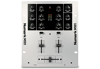 Numark Solid two-channel all-purpose mixer for DJs (M101)