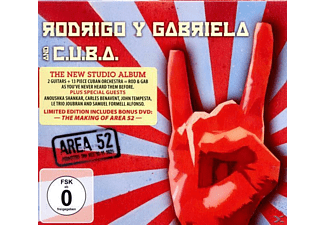 RODRIGO Y GABRIELA & C.U.B.A. - Area 52 [CD + DVD Video]
