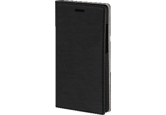 Booklet Slim Bookcover Huawei P8 High-Tech-PU Schwarz