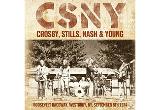 Crosby, Stills, Nash & Young - Crosby, Stills, Nash & Young (Roosevelt Raceway, Westbury, Ny, Sept.8th 1974) - (CD)