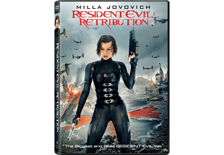 Resident Evil: Retribution Action DVD