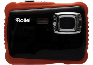 ROLLEI Sportsline 65 Digitalkamera Orange/Schwarz, 5 Megapixel, TFT-Display