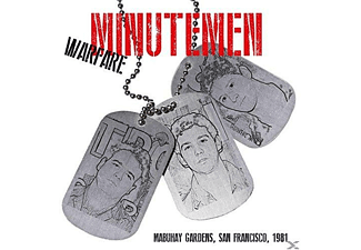 Minutemen - Warfare-Mabuhay Gardens, San Francisco 1981 - (CD)