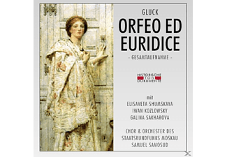 Chor & Orch.Des Staatsrundfunks Moskau - Orfeo Ed Euridice (Ga) - (CD)