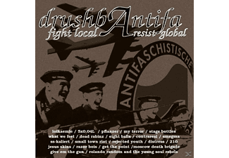 VARIOUS - Drushbantifa-Fight Local, Resist Global [CD]