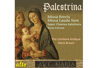 Pro Cantione Antiqua, Mark Brown - Palestrina Missa Brevis & Missa Lauda Sion, 2 Motets - (CD)