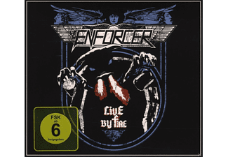 Enforcer - Live By Fire - (DVD + CD)