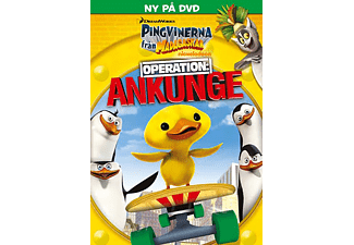 Pingvinerna från Madagaskar - Operation: Ankunge Animation / Tecknat DVD