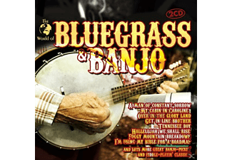 VARIOUS - BLUEGRASS & BANJO - (CD)