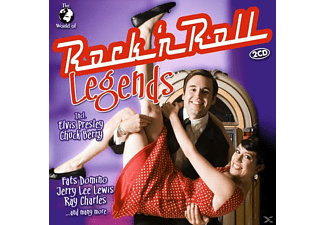 Various - W.O.Rock'n Roll Legends - (CD)