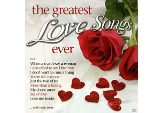 VARIOUS - The Greatest Love Songs Ever - (CD)