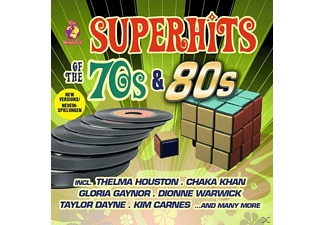 VARIOUS - World Of Superhits Of 70s & 80s [CD]
