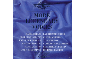 VARIOUS, FERRIER/+, Tauber, Gigli, Ruffo - More Legendary  Voices - (CD)