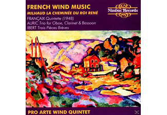 VARIOUS, Pro Arte Wind Quintet Zürich - French Wind Music - (CD)