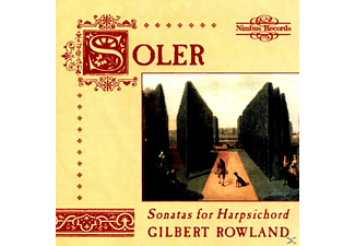Gilbert Rowland - Soler:Sonatas For Harpsichord - (CD)