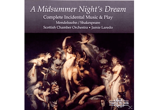 Jaime Scottish Chamber Orchestra & Laredo, J./Scottish Chamber/Scottish Phil.Singers Laredo - Mendelssohn: Midsummer Night - (CD)